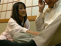 片桐沙代子 こんな格好見られて恥ずかしい。オジサン、欲求不満何とかしてくれません?
