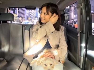 赤崎美優 犬の散歩中にされたインタビューがきっかけで自分が性ペットになる人妻