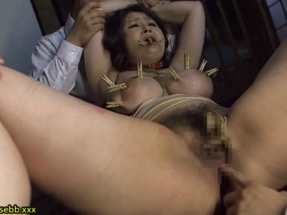 【JUX-699】水野淑恵が縛られて犯されている画像